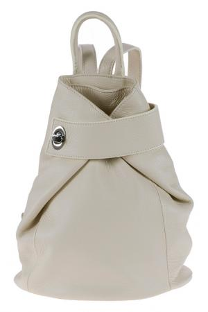Рюкзак Pitti bags. Цвет: бежевый
