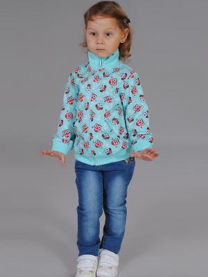 Куртка Милашка Сьюзи. Цвет: бирюзовый