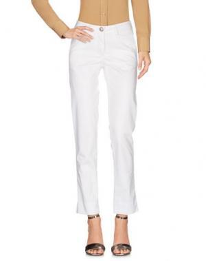 Повседневные брюки VERYSIMPLE. Цвет: белый