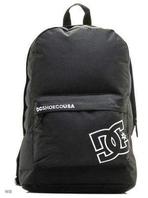 Рюкзак DC Shoes. Цвет: черный