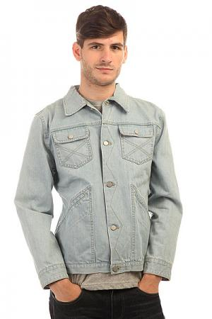 Куртка джинсовая  Modern Lover Salt Blue Insight. Цвет: голубой