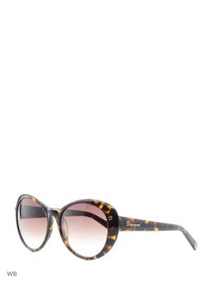 Солнцезащитные очки DQ 0113 52F Dsquared2. Цвет: золотистый, коричневый