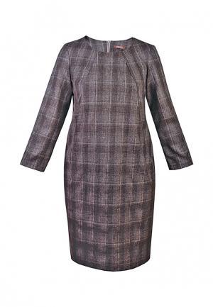 Платье Spicery. Цвет: коричневый