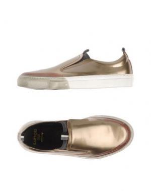Низкие кеды и кроссовки SARTORI GOLD. Цвет: бронзовый