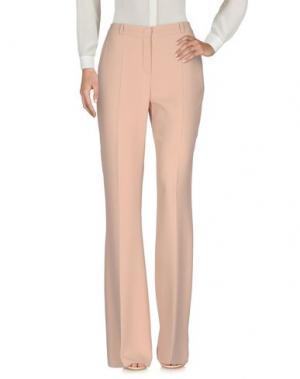 Повседневные брюки CAPUCCI. Цвет: телесный