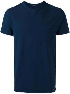 Chest pocket T-shirt Drumohr. Цвет: синий
