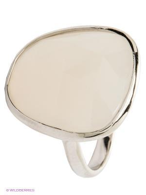Кольцо Migura. Цвет: серебристый, молочный