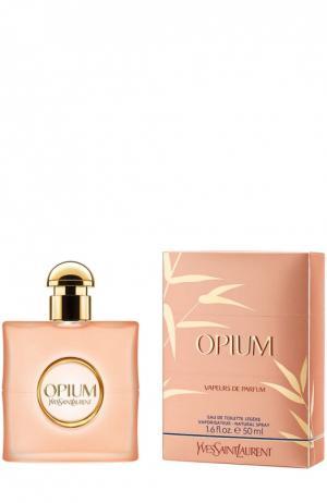 Туалетная вода Opium Vapeurs De Parfums YSL. Цвет: бесцветный