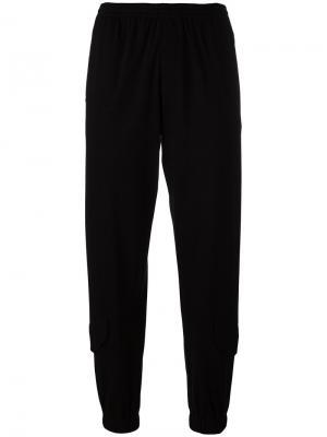 Классические спортивные брюки Y-3. Цвет: чёрный