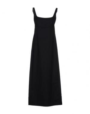 Платье длиной 3/4 GARAGE NOUVEAU. Цвет: черный