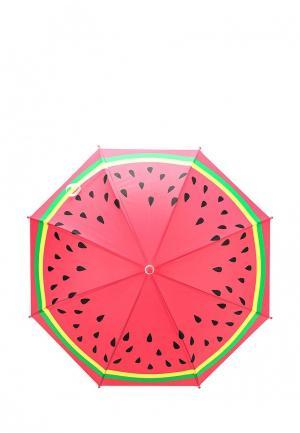 Зонт-трость Sela. Цвет: красный