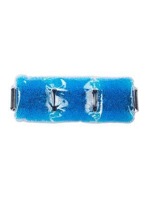Гелевый пояс с эффектом охлаждения/нагревания Spa belle. Цвет: голубой
