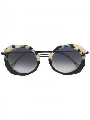 Солнцезащитные очки  Donna Plus Kyme. Цвет: чёрный