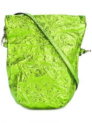 Маленькая сумка на плечо Zilla. Цвет: зелёный