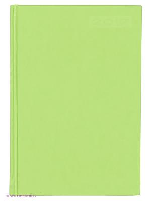 Ежедневник датированный А5, 176л. CITY, салатовый Канц-Эксмо. Цвет: салатовый