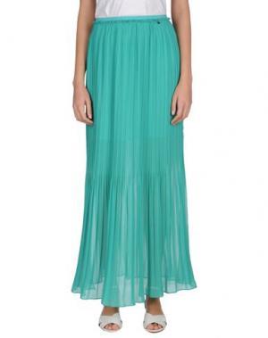 Длинная юбка GIORGIA & JOHNS. Цвет: изумрудно-зеленый