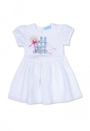 Платье Бимоша. Цвет: белый