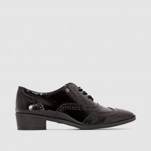 Ботинки-дерби на шнуровке ELLE. Цвет: черный