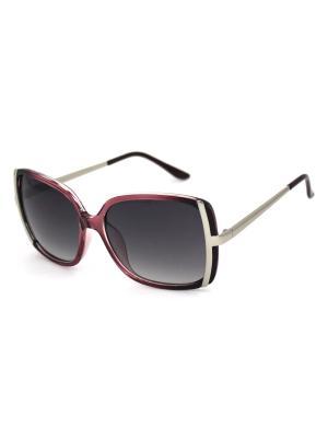 Cолнцезащитные очки Exenza. Цвет: бордовый, серебристый