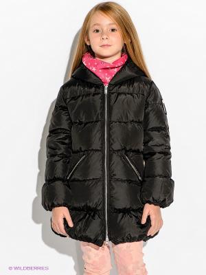 Пальто Bomboogie Kids. Цвет: черный