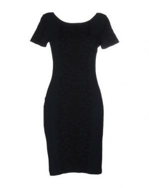 Короткое платье ANGELO MARANI. Цвет: зеленый