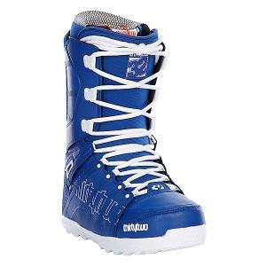 Ботинки для сноуборда  Lashed Blue Thirty Two. Цвет: синий