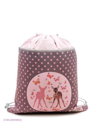 Мешок для обуви Animal Planet too cute Action!. Цвет: бледно-розовый, лиловый