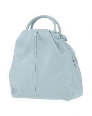 Рюкзаки и сумки на пояс GIUDI. Цвет: небесно-голубой
