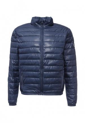 Куртка утепленная Biaggio. Цвет: синий