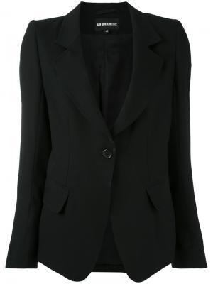 Single button blazer Ann Demeulemeester. Цвет: чёрный
