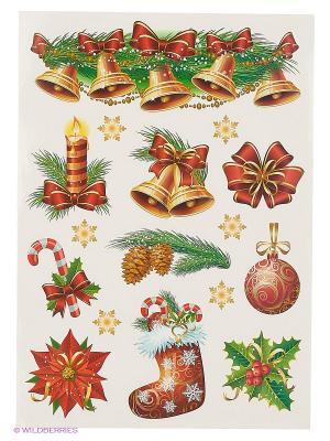 Рождественский вечер DECORETTO. Цвет: красный, оранжевый, зеленый