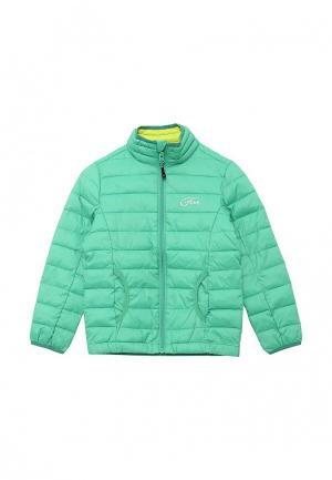 Куртка утепленная Five Seasons. Цвет: зеленый