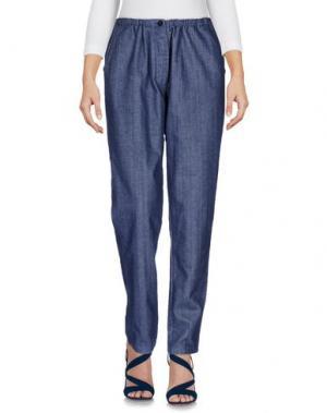 Джинсовые брюки LOCAL APPAREL. Цвет: синий