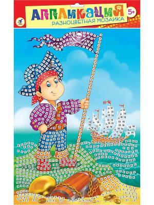 Разноцветная мозаика. Маленький пират Дрофа-Медиа. Цвет: голубой