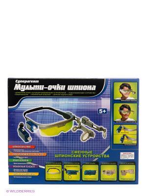 Игровой набор Мульти-очки шпиона серии Суперагент DREAM MAKERS. Цвет: синий