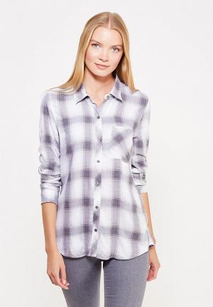 Рубашка Gap. Цвет: серый