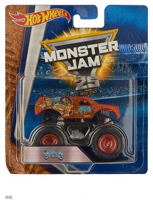 Машинки серии Monster Jam Hot Wheels. Цвет: оранжевый