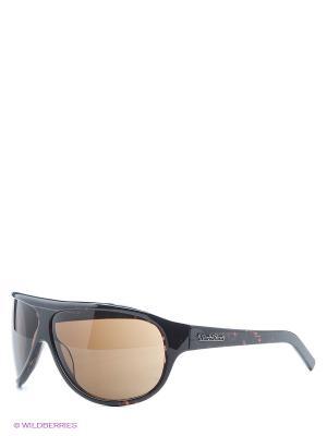 Очки солнцезащитные MS 12-050 07P Mario Rossi. Цвет: темно-коричневый