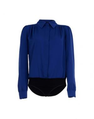 Pубашка HANITA. Цвет: синий