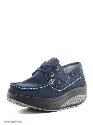 Ботинки ELITE. Цвет: синий