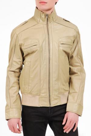 Jacket Isaco & Kawa. Цвет: beige