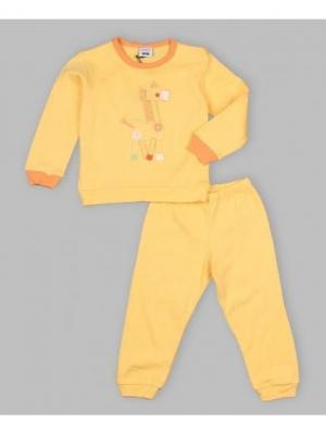 Пижама MANAI. Цвет: желтый