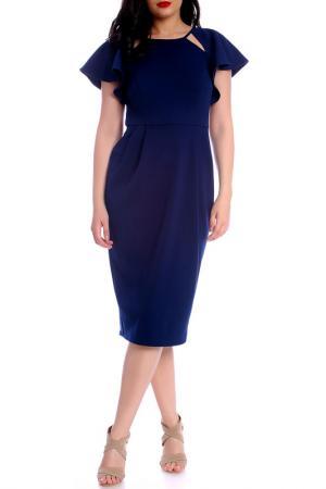 Платье Moda di Chiara. Цвет: синий