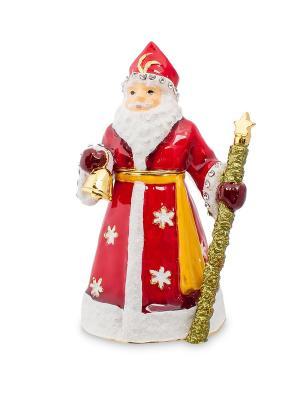 Шкатулка Дед Мороз (Nobility) Nobility. Цвет: красный