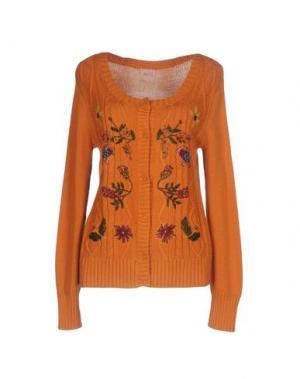 Кардиган NOLITA. Цвет: оранжевый