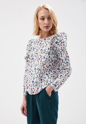 Блуза Tom Tailor Denim. Цвет: белый