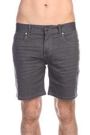 Шорты джинсовые  Clash It Walkshort Ash Grey Billabong. Цвет: серый