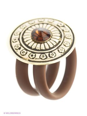 Кольцо NAVELL. Цвет: коричневый