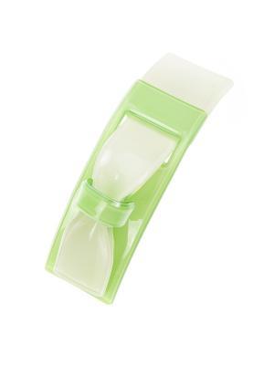 Заколка-автомат для волос Pretty Mania. Цвет: зеленый, белый, серебристый