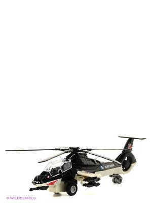 Вертолет Технопарк. Цвет: черный, светло-серый